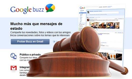 Google Buzz inundado a demandas