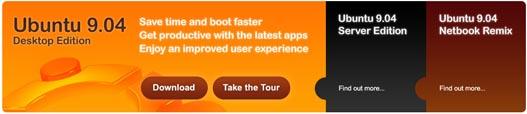 Descarga Ubuntu 9.04 Jaunty Jackalope
