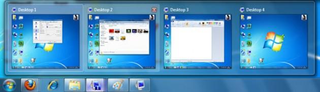 Escritorios virtuales Windows