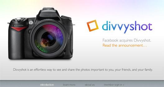 Facebook compra Divvyshot