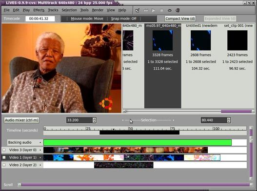 LiVes – Aplicación de edición de vídeo