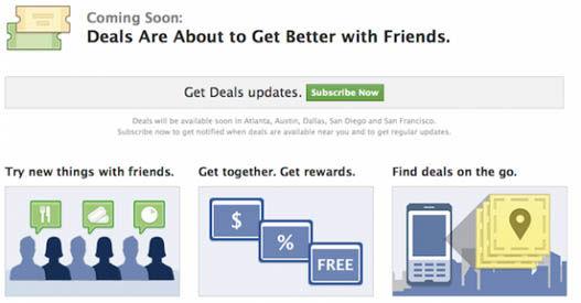 facebook cupones