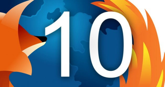 Novedades Firefox 10