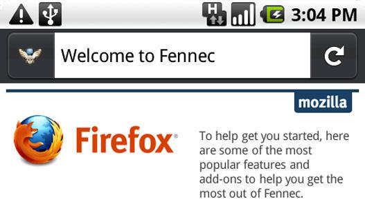 Mozilla libera una Pre Alpha de Firefox para Android