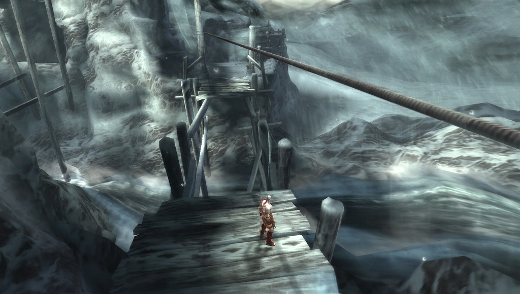 Kratos a PSP con GoW:Ghost of Sparta