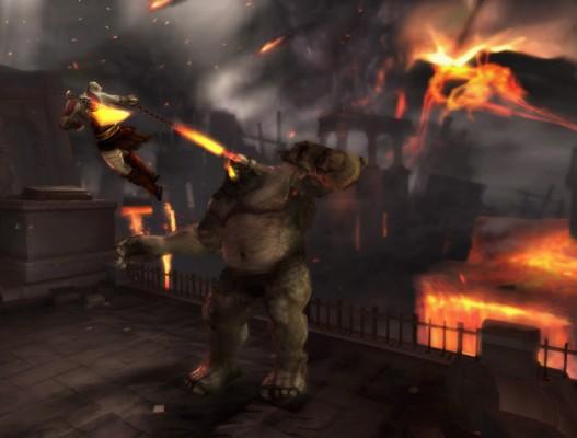 La vuelta de Kratos a PSP con GoW:Ghost of Sparta