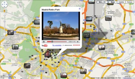 Google maps con youtube