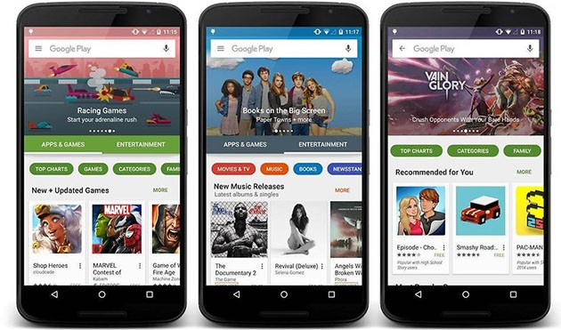 google play stores 6.0