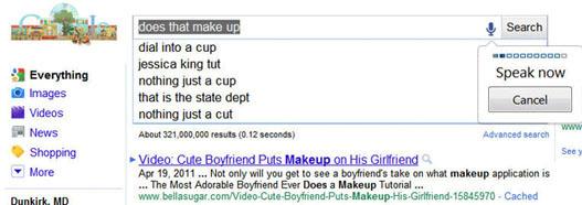 Google Speak Now