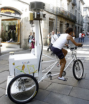 Google Street View anda por Santiago de Compostela
