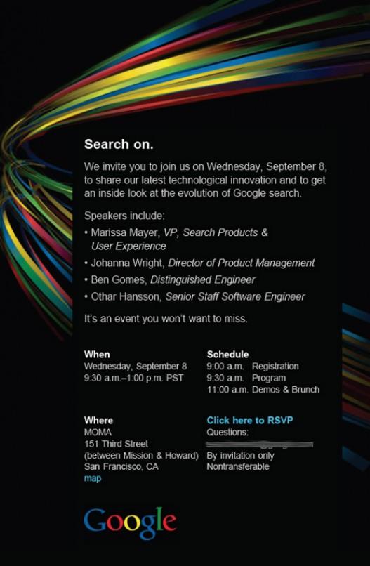 Google 8 Septiembre