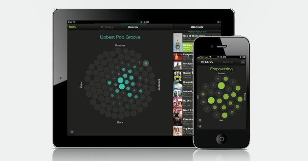 Música según estado de animo para Android e IPhone