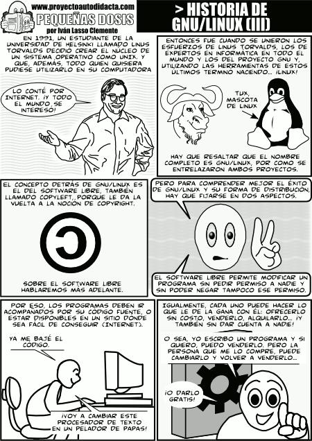 historia gnu linux