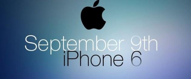 iPhone 6 el 9 de septiembre
