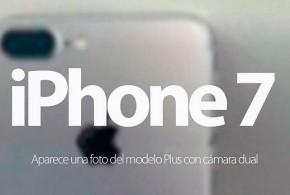 iPhone 7 camara dual