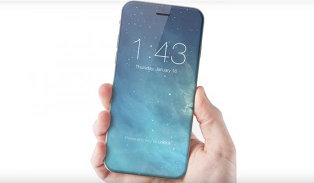 iPhone 8 infinity display