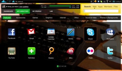 Jolicloud: El sistema operativo para netbooks