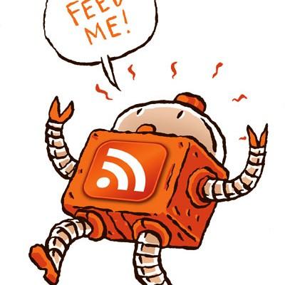 Poner un feed RSS en tu página web.