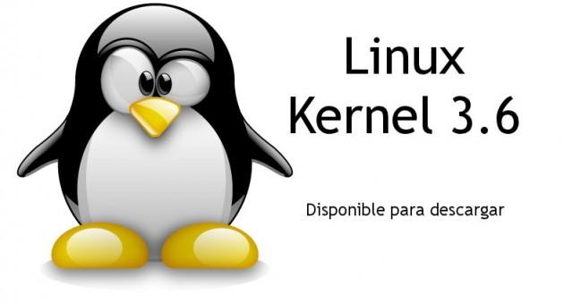 linux kernel 3.6