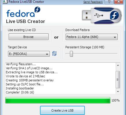 Crea tu live USB de Linux