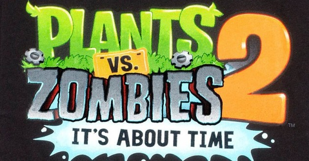 logo plants vs zombies 2