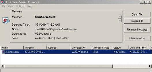 McAfee deja inutilizados miles de ordenadores con XP