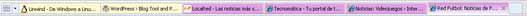 menu internet explorer 8