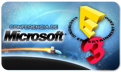 Resumen de la conferencia de Microsoft (E3 2010)
