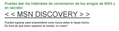 MSN Discover