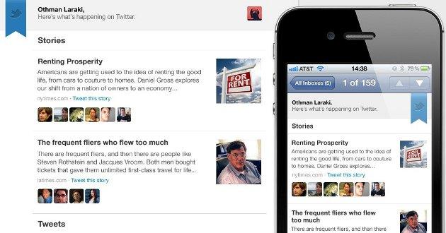 Newsletter personalizadas Twitter