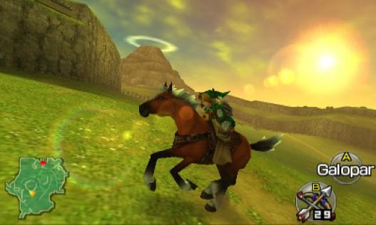 Análisis de Zelda:Ocarina of Time 3DS