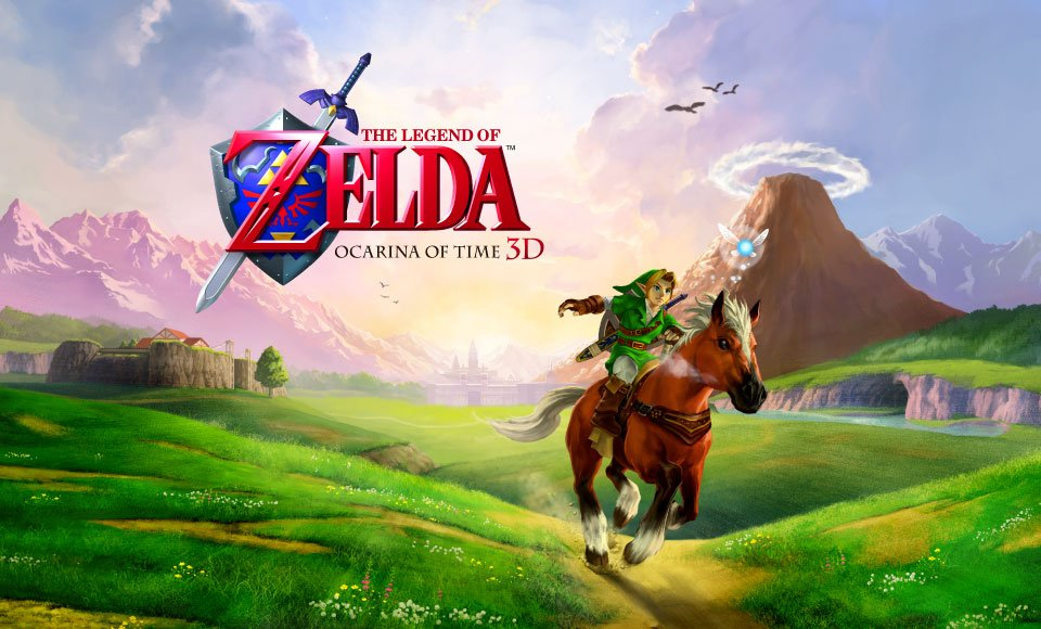 ocarina of time portada