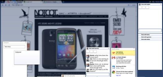 Paneles en Chrome OS