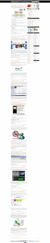 pantallazo de la web