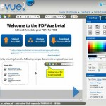 PDFVue te permite editar los PDF en línea.