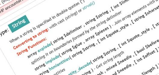 Hojas de trucos, diseño y desarrollo web