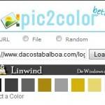 Pic2Color, obten paletas de colores de imágenes.