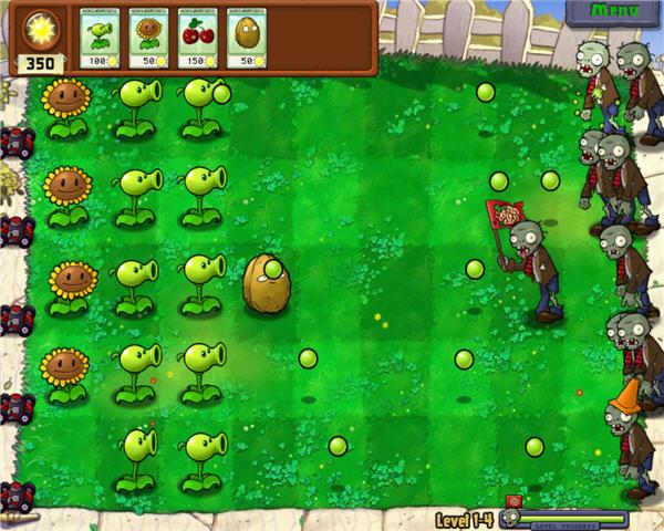 plantas vs zombie