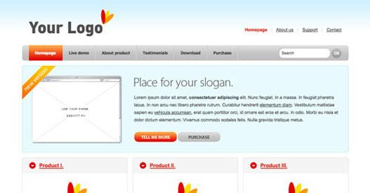 plantilla web html css