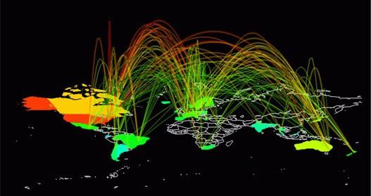 red internet IPv4 IPv6