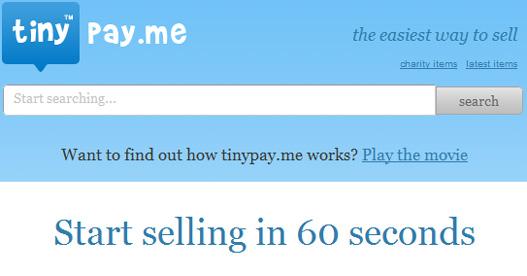TiniPay.Me: Compra venta rápida online