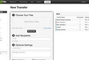 transferencia de ficheros grandes