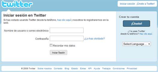 Twitter en español oficialmente