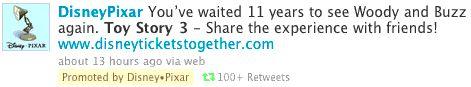 Twitter ya muestra Tweets de pago
