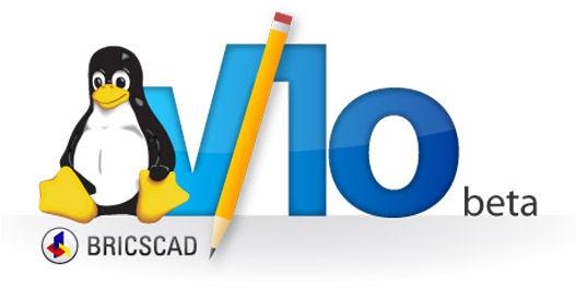 v10 linux beta CAD
