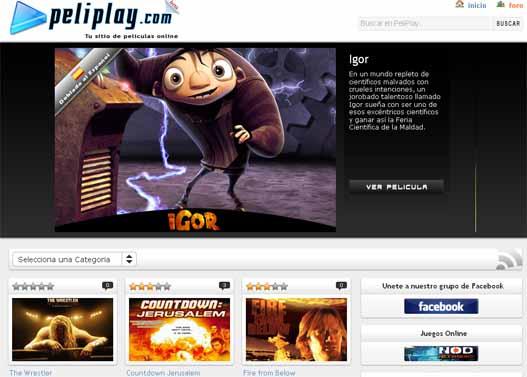 Ver películas en linea con peliplay