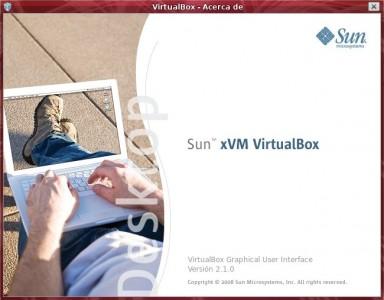 virtualbox 2.1.0