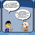 Humor: Tira sobre Windows 7 Starter Edition