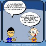 Humor: Tira sobre Windows 7 Starter Edition