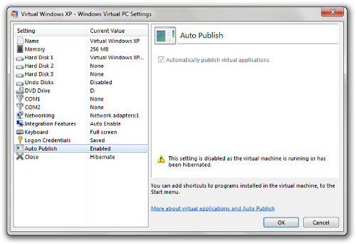 Windows 7 viene con Windows XP virtualizado.